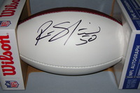 NFL - STEELERS RYAN SHAZIER SIGNED PANEL BALL