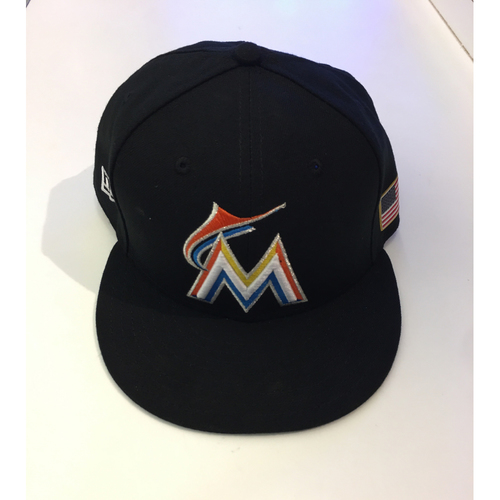 Photo of Giancarlo Stanton Game Used Hat - 7 3/4