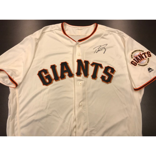 Giants Community Fund: Giants Jersey Autographed by Buster Posey