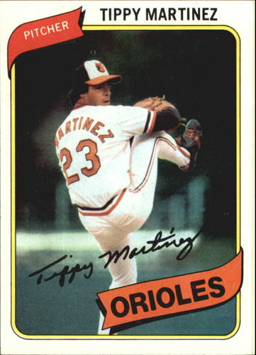 Photo of 1980 Topps #706 Tippy Martinez