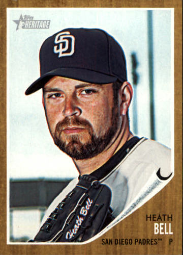 Photo of 2011 Topps Heritage #189 Heath Bell