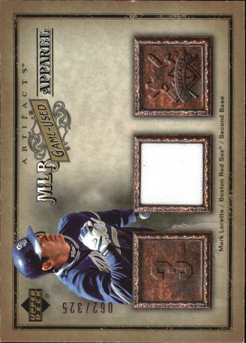 Photo of 2006 Artifacts MLB Game-Used Apparel #ML Mark Loretta Jsy/325