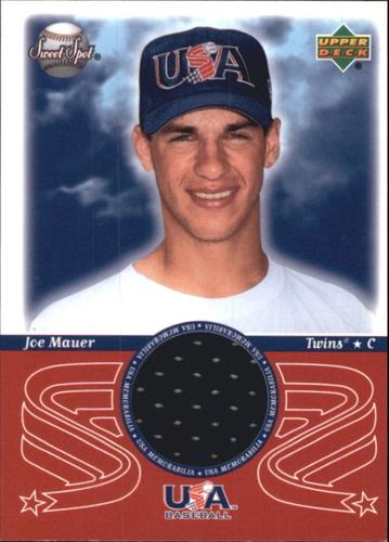 Photo of 2002 Sweet Spot USA Jerseys #JM Joe Mauer