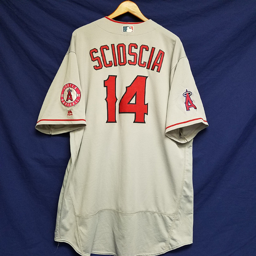 Photo of Mike Scioscia Team-Issued 2016 Road Jersey