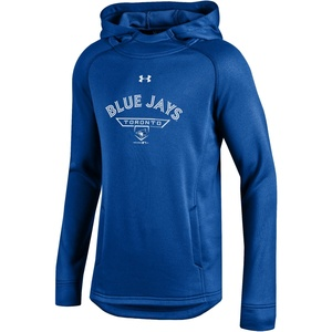 Toronto Blue Jays Youth Tech Terry Pullover Hoody by Under Armour