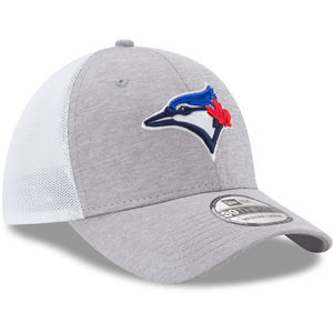 Toronto Blue Jays Tech Sweep Stretch Cap Grey/White by New Era