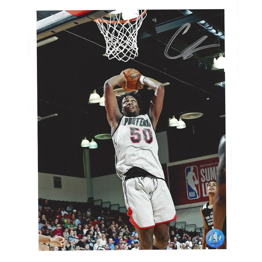 Caleb Swanigan - Portland Trail Blazers - 2017 NBA Draft - Autographed Photo