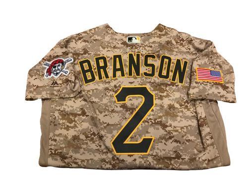 Jeff Branson Team-Issued Camo Jersey
