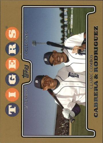 Photo of 2008 Topps Gold Border #466 Miguel Cabrera/Ivan Rodriguez