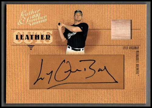Photo of 2005 Leather and Lumber Leather Cuts Bat #39 Lyle Overbay/128