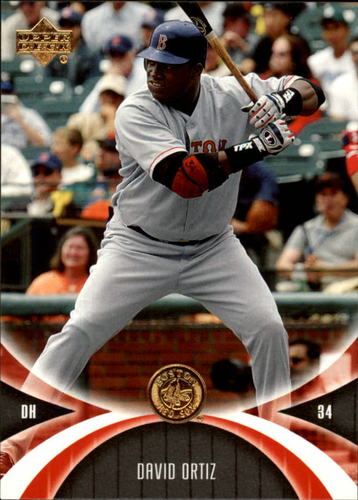 Photo of 2005 UD Mini Jersey Collection #13 David Ortiz