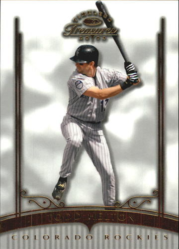 Photo of 2003 Timeless Treasures #88 Todd Helton
