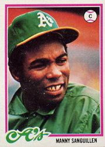 Photo of 1978 Topps #658 Manny Sanguillen