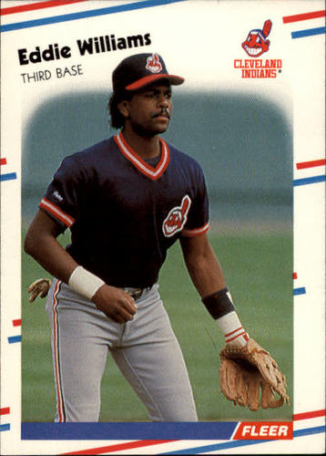 Photo of 1988 Fleer #620 Eddie Williams RC