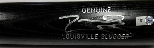 Photo of Darwin Barney Autographed Louisville Slugger Bat