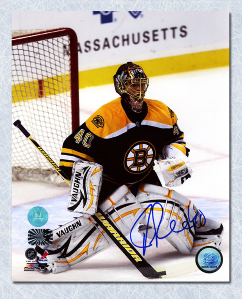 Tuukka Rask Boston Bruins Autographed 8x10 Photo