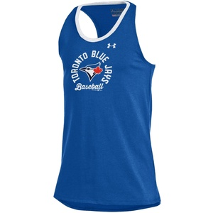 Toronto Blue Jays Youth Charge Ringer Tank Royal by Under Armour