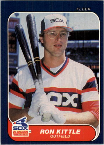 Photo of 1986 Fleer #210 Ron Kittle