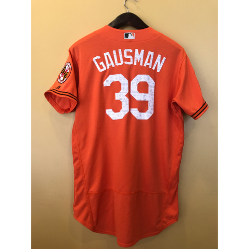 Photo of Kevin Gausman - 2017 Spring Training Jersey: Team-Issued