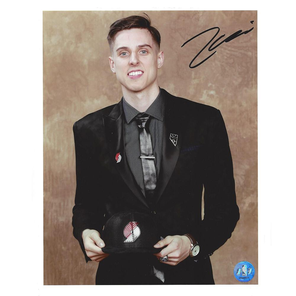 Zach Collins - Portland Trail Blazers - 2017 NBA Draft - Autographed Photo