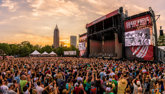 3-DAY VIP AT SHAKY KNEES MUSIC FESTIVAL IN ATLANTA - PACKAGE 1 OF 6