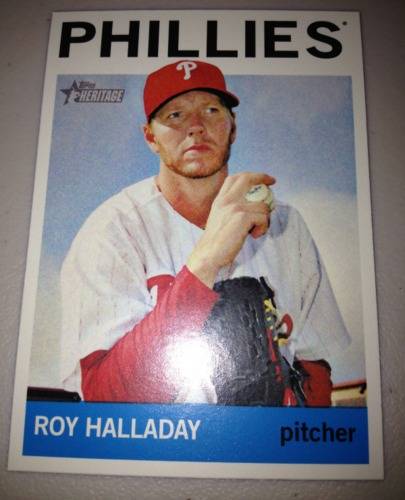 Photo of 2013 Topps Heritage #462 Roy Halladay SP