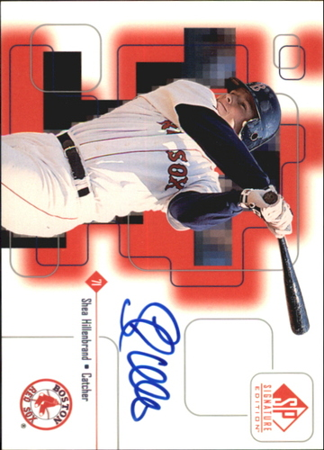 Photo of 1999 SP Signature Autographs #SHH Shea Hillenbrand