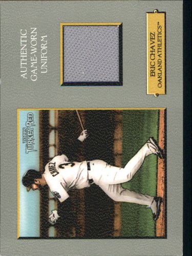 Photo of 2006 Topps Turkey Red Relics #EC Eric Chavez Pants D