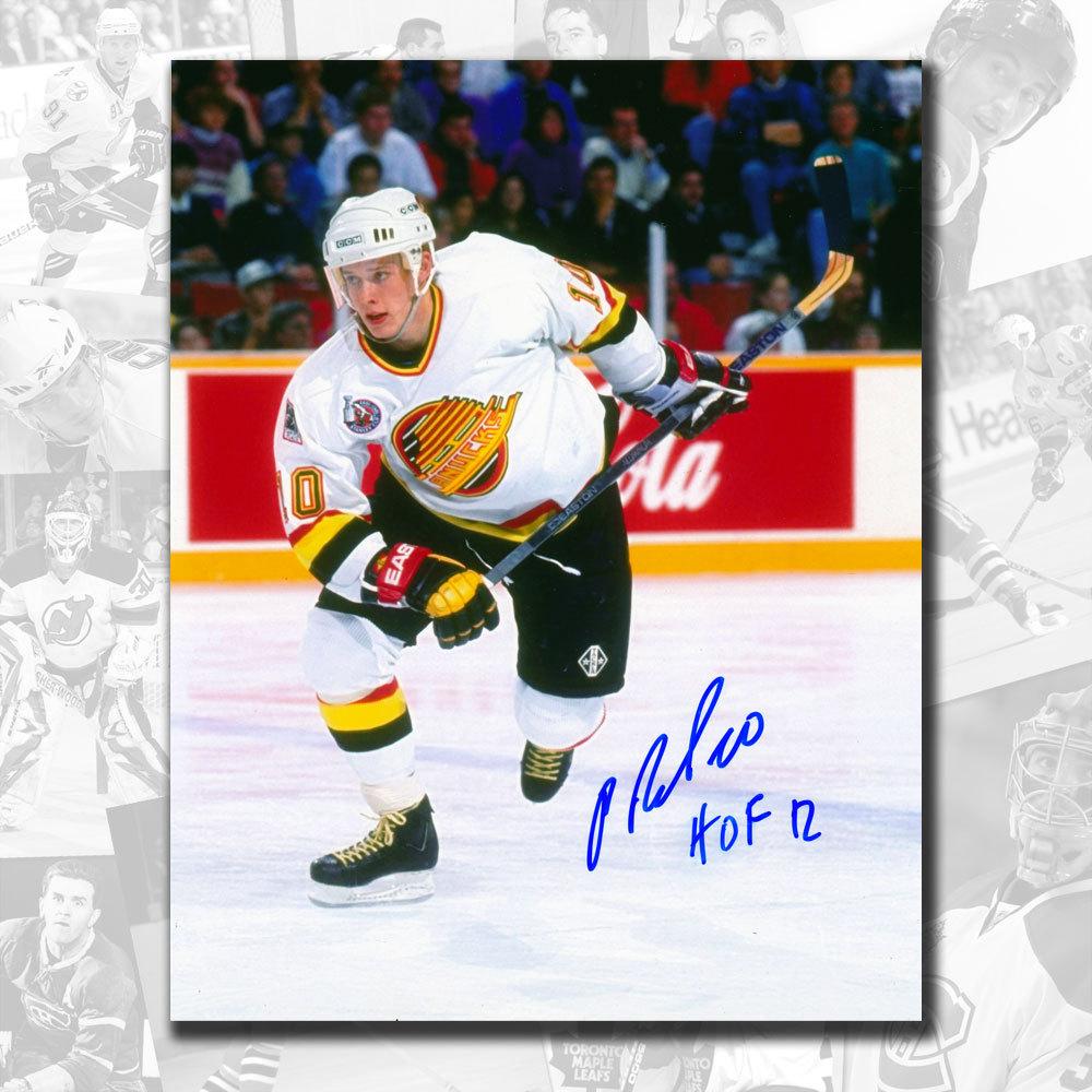 Pavel Bure Vancouver Canucks Breakout HOF Autographed 8x10