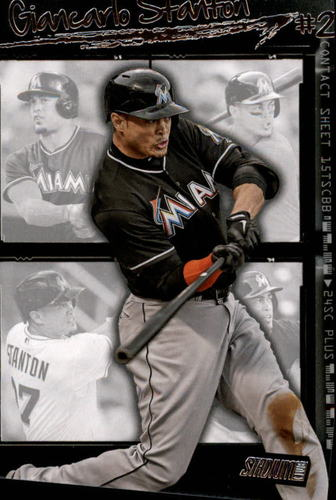 Photo of 2015 Stadium Club Contact Sheet #CS4 Giancarlo Stanton