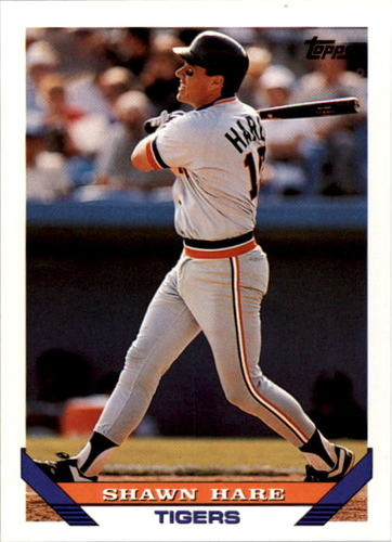 Photo of 1993 Topps #491 Shawn Hare