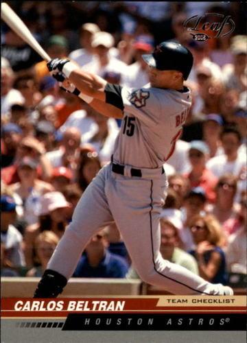 Photo of 2005 Leaf #283 Carlos Beltran  -- Astros post-season
