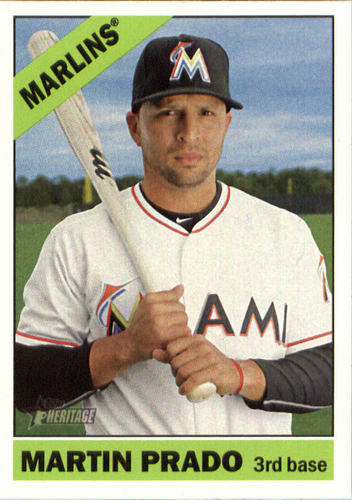 Photo of 2015 Topps Heritage #603 Martin Prado