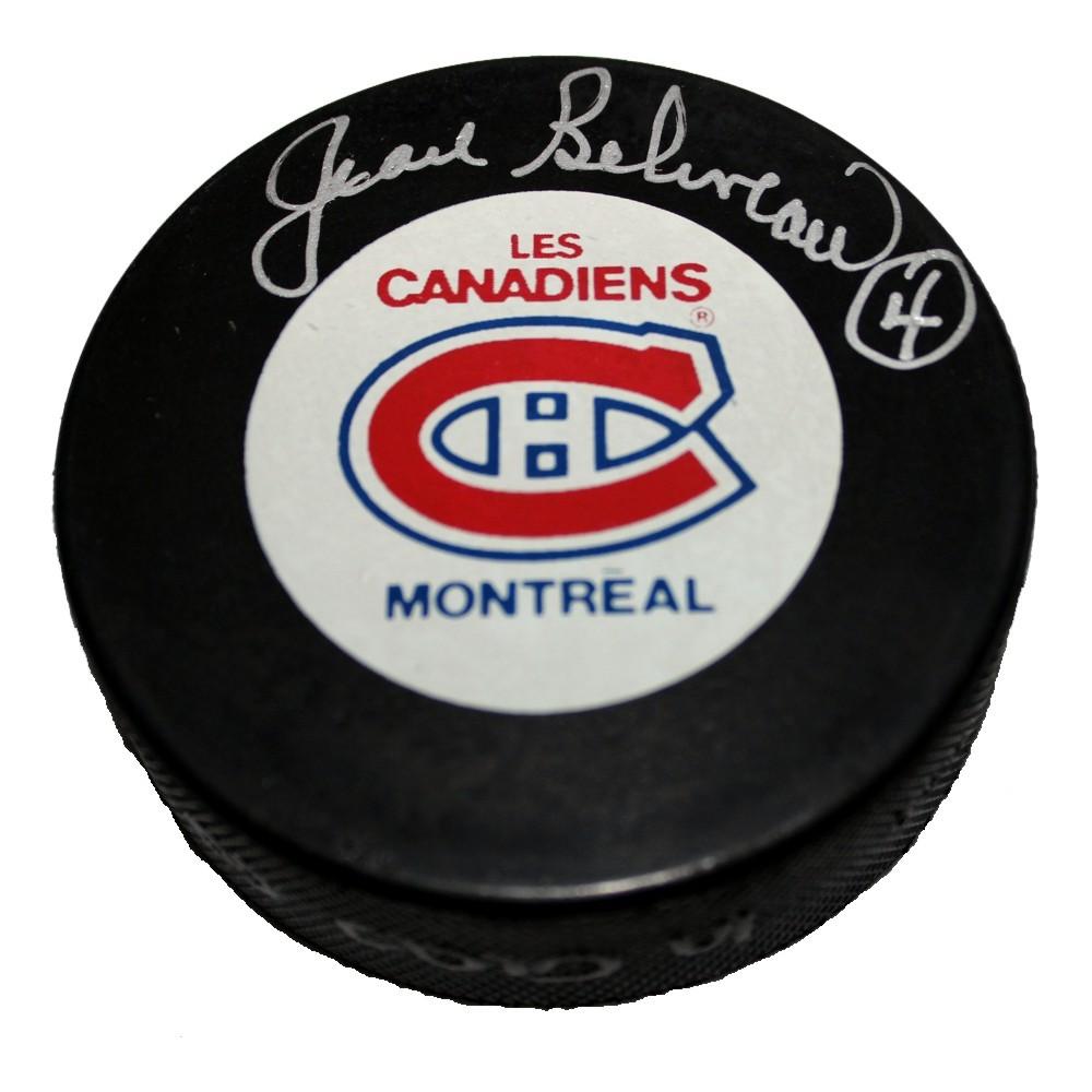 Jean Beliveau (deceased) Autographed Montreal Canadiens Puck