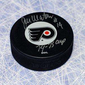 Joe Watson Philadelphia Flyers Autographed Hockey Puck