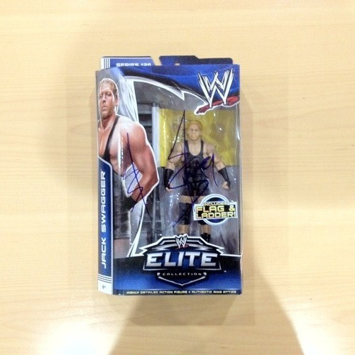 SIGNED Jack Swagger Elite Series 26 Action Figure