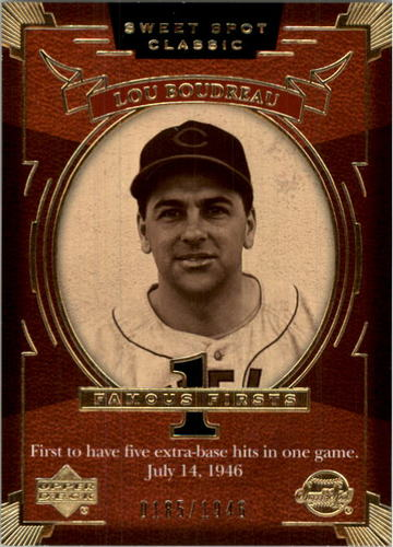 Photo of 2004 Sweet Spot Classic #126 Lou Boudreau FF/1946