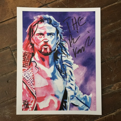 Photo of Brian Kendrick SIGNED 11 x 14 Rob Schamberger Print