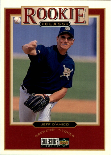 Photo of 1997 Collector's Choice #3 Jeff D'Amico