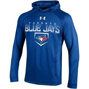 Fleece Tech Terry Pullover Hoody Royal made by Under Armour