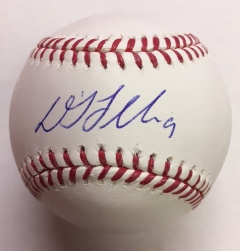 Photo of DJ LeMahieu Autographed Baseball