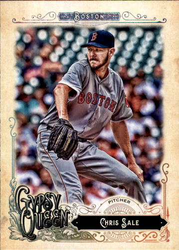 Photo of 2017 Topps Gypsy Queen #243A Chris Sale