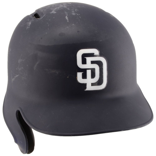 Photo of San Diego Padres Game-Used #44 Navy Helmet used during the 2016 Season