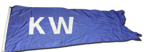 Photo of Wrigley Field Collection -- Rooftop Flag -- KW/20