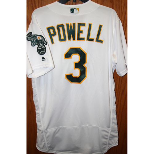 """Photo of Boog Powell Game-Used """"Atleticos"""" Jersey"""