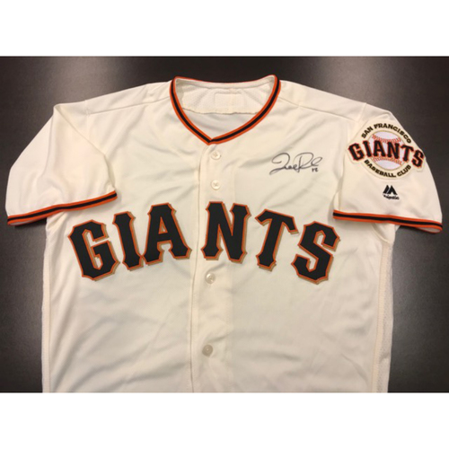 Giants Community Fund: Giants Jersey Autographed by Joe Panik