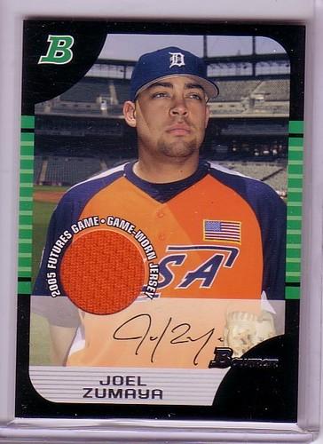 Photo of 2005 Bowman Draft Futures Game Jersey Relics #131 Joel Zumaya