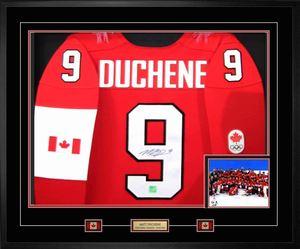 Matt Duchene - Signed & Framed Jersey - Team Canada 2014 Olympic Nike Premier Red