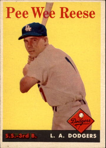 Photo of 1958 Topps #375 Pee Wee Reese