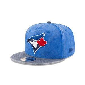 Toronto Blue Jays Rugged Canvas Snapback Cap by New Era